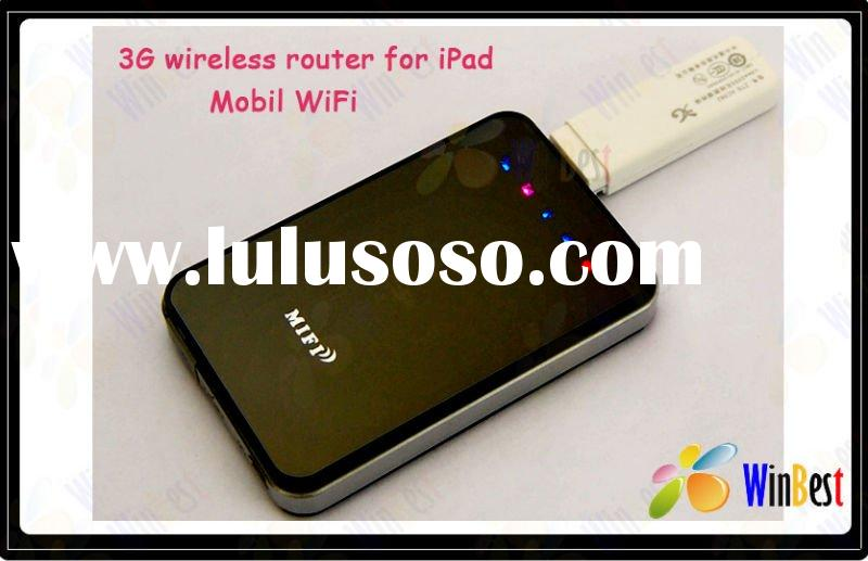 HOT! 3G wireless wifi router Mifi for iPad,Tablet Pc,Mobile,Mini Gateway ADSL support TD-SCDMA/WCDMA