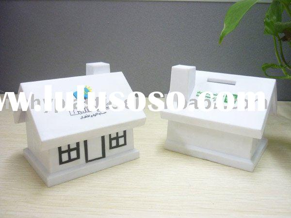 HY0802 Plastic house money boxes