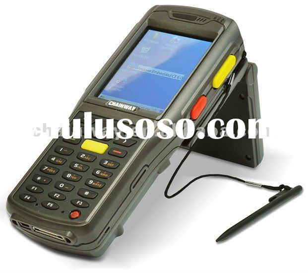 Handheld Mobile Computer with 1D Barcode scanner, Camera, Wi-Fi/GPRS Wireless RFID Reader UHF