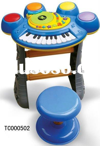 Hot Sale Electronic Drum Toy with Organ Keyboard