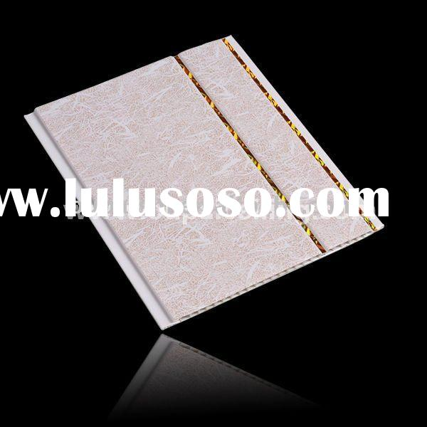 Hot Stamping Decorative PVC Ceiling Tiles
