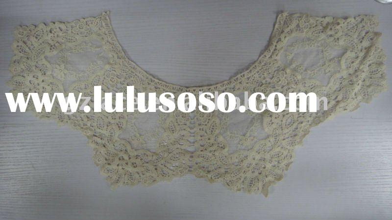 Hot!!african water-soluble lace fabric L10,best decoration for wedding dress