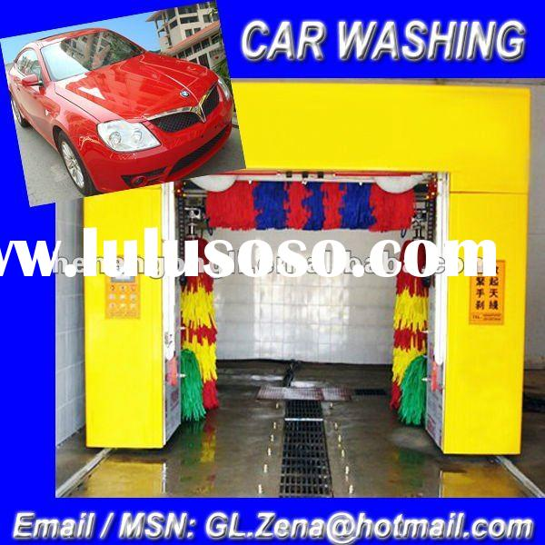 Hot sale brush type automatic car wash machine
