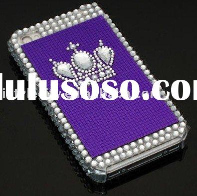 Imperial Crown Bling Bling Diamond Crystal Case for iPhone4