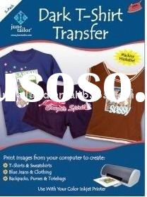 Inkjet T-shirt Heat Transfer Paper For Dark and White Color (Iron On Transfer Paper)