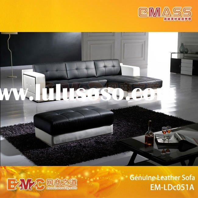 Italy style leather Modern sofa set EM-LDc051A