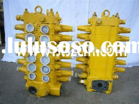 Komatsu second hand main valve, used control valve, PC60-7 spare parts, 723-26-13101