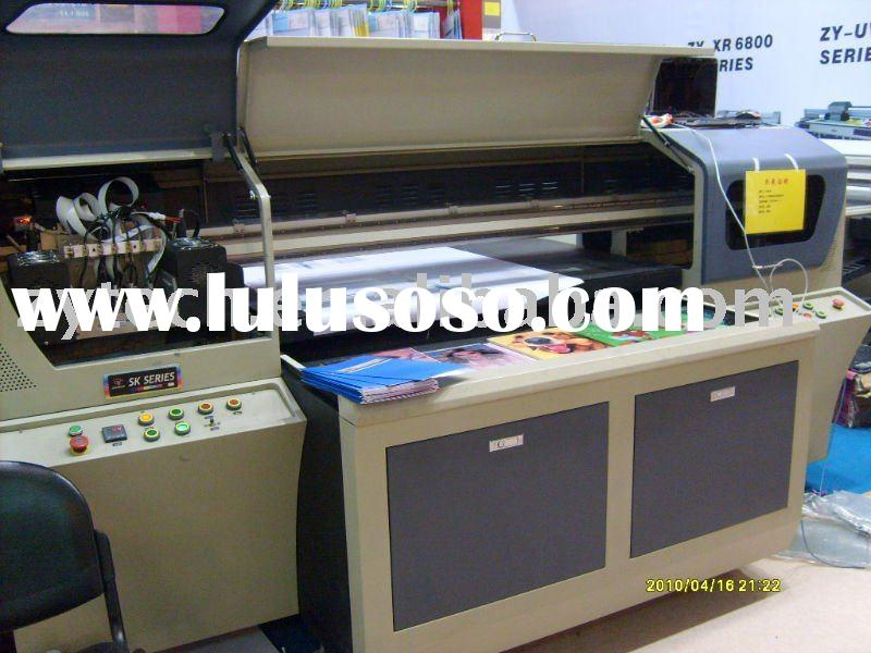 Liaoning Zhongye digital UV flatbed printer for indoor and outdoor use ZY-SKUV1309C