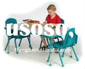 Lovely School student Children table chair/Kids Furniture/PP Office Chair