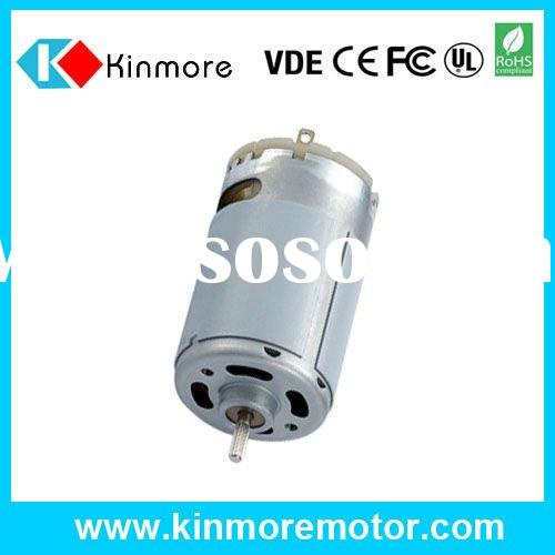 Low cogging carbon Brush motor RS-550SA for Air pump, Water pump, EPB