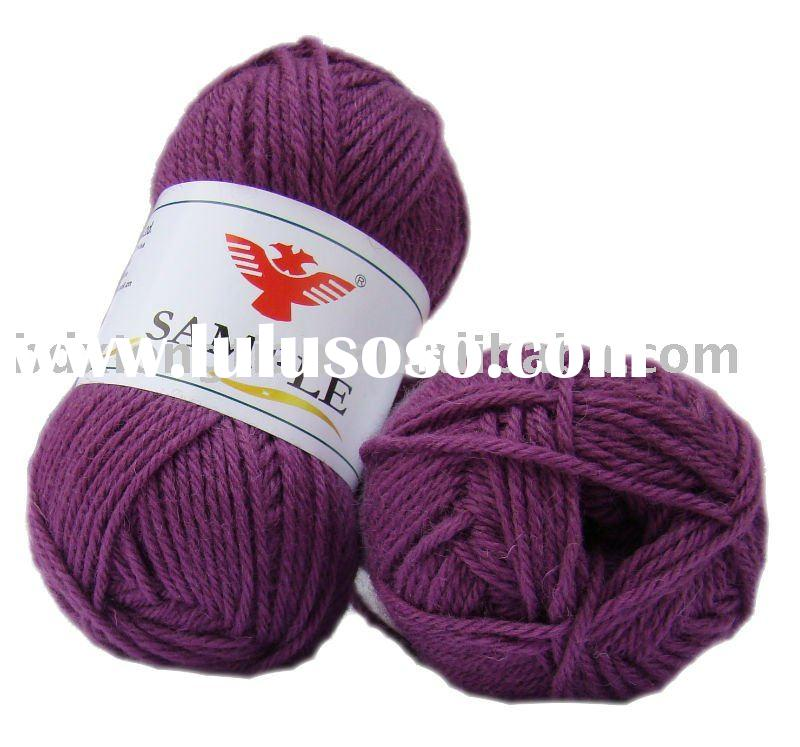Low grade wool yarn,low price wool yarn,hand knitting wool yarn