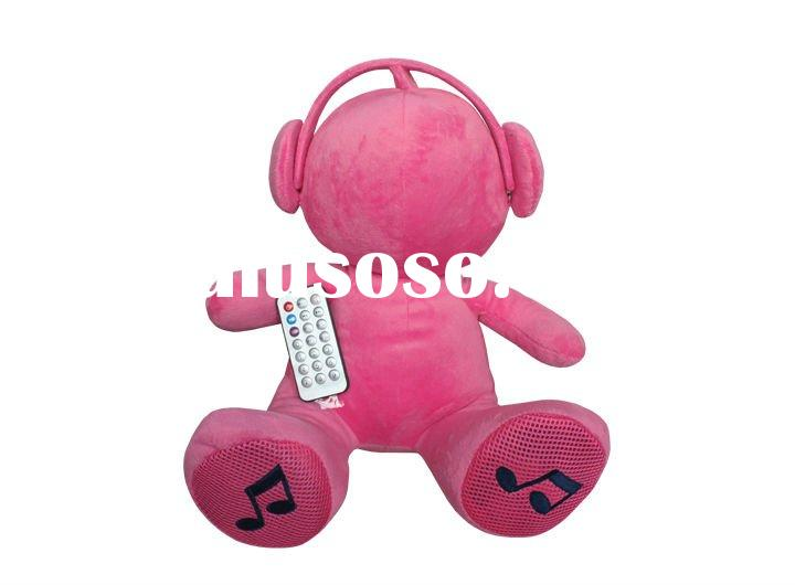 MP3 bear/MP3 speaker/Bear gift/christmas doll toy speaker