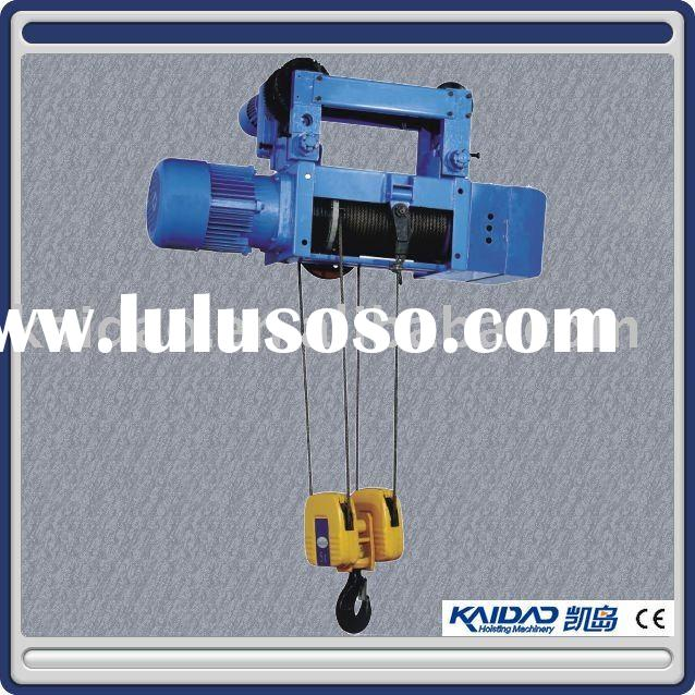 Metallurgy electric wire rope hoist-lifting crane (4/2, 4/1, 2/1 rope reeving)