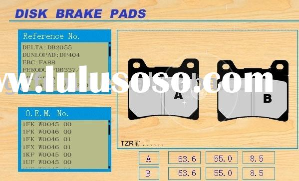Motorcycle Parts/Motorcycle Brake Pad/TZR(FRONT)
