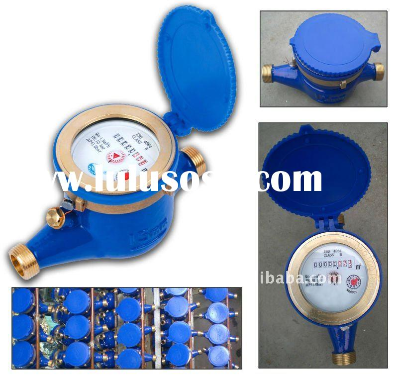 Multi jet dry-dial type cold(hot) water meter Class B