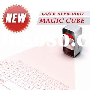 New! Laser Virtual Keyboard Magic cube Bluetooth Virtual Laser Keyboard for PC/smart phone/Iphone Ch