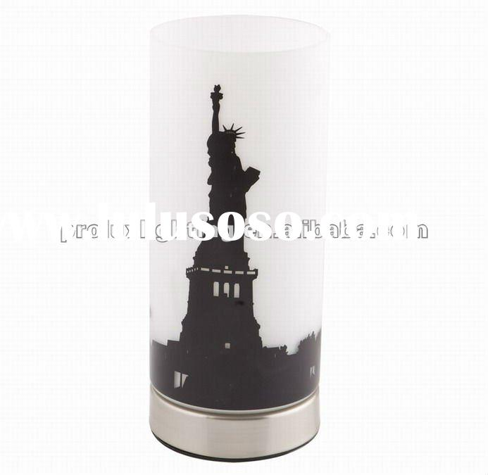 New York UP touch glass table lamp