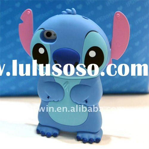 Newest Stitch Case for Apple iPhone 4S / 4G ,blue hand stitch case for iphone,high quality,3D stitch