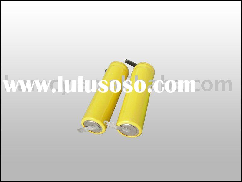 Ni-CD AA 600mAh 1.2v rechargeable battery pack