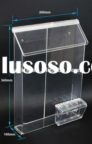 Outdoor Acrylic brochure holder
