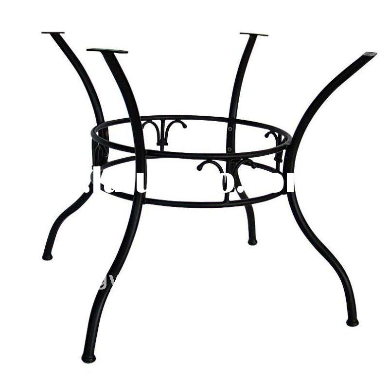 Outdoor Round Wrought Iron Table Base YB580819