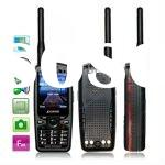 P-A-968, Walkie Talkies Mobile Phone with Transceiver U+V Dual band, Dual Sim cards Dual standby, Ne