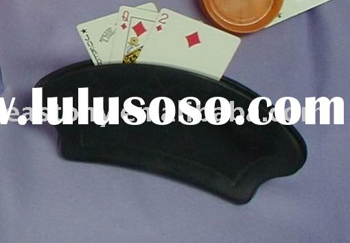 Plastic Playing Cards Holder,Fan Handy Card Holder,ET-10803