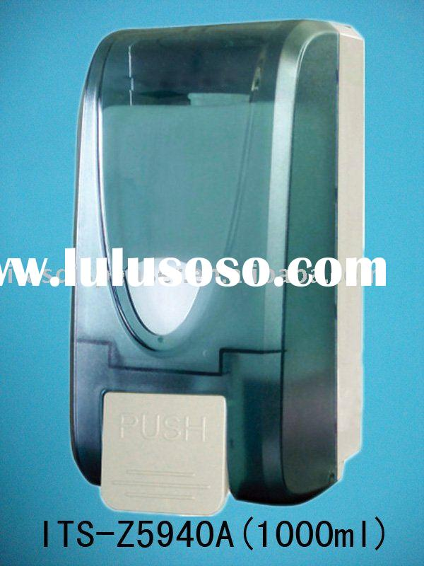 Plastic liquid soap dispenser