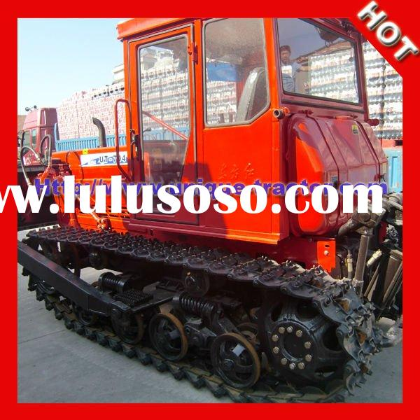 Professional 70HP Agricultural Crawler Tractor For Sale