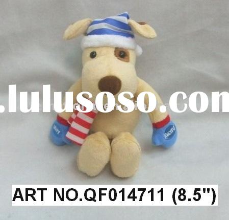 QF014711 8.5 INCHES PLUSH DOG WITH RECORDER OF WHAT YOU SAY AND TALKS BACK FUNCTIONS OF WHATS BEEN R