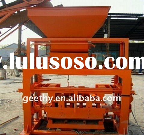 QT40C-1 price concrete block machine/manual block making machine/foam concrete block machine