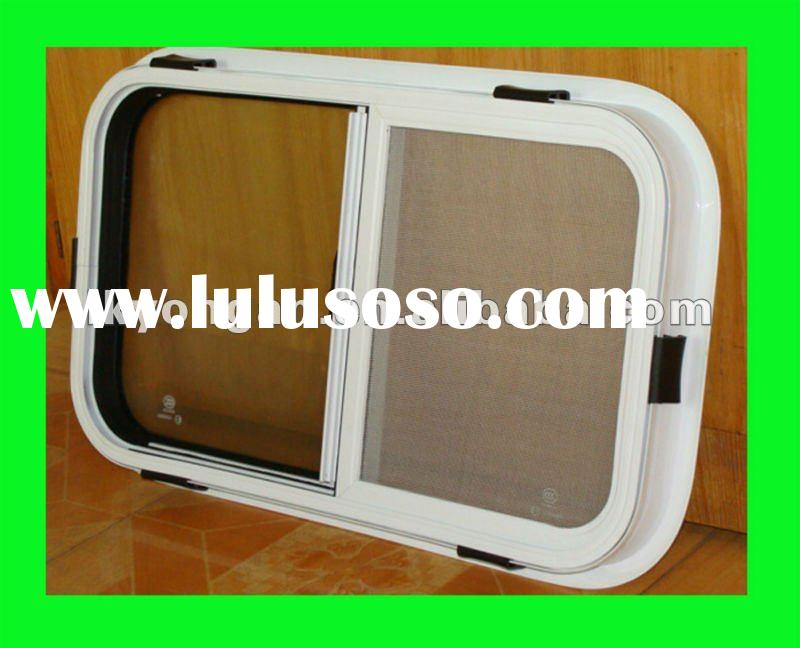 RV parts Durable and Refined Aluminum Sliding Window