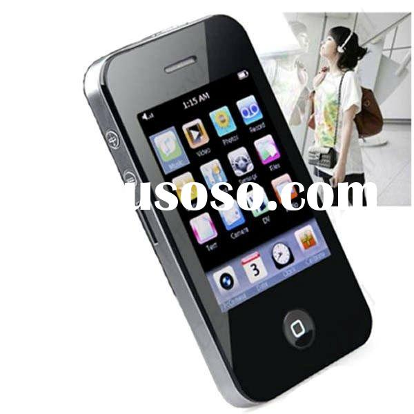 Real 2GB 4GB 8GB 16GB 2.8'' Fashion Style USB 2.0 Touch Screen PMP Media Player MP3
