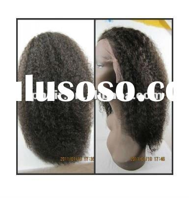 Remy Human Hair Full Lace Wig For Black Women