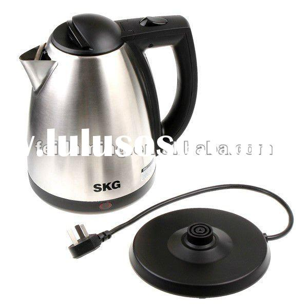 SKG Stainless Steel Electric Hot Tea Water Coffee Kettle 2L