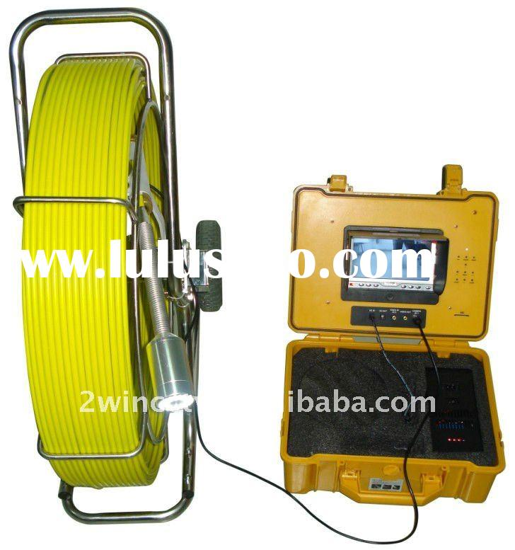 Sea sewer Hole pipe inspection camera for exploration and exploration