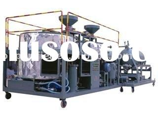 Sell Black oil recycling system/ Black Motor used oil / car oil recycling machine