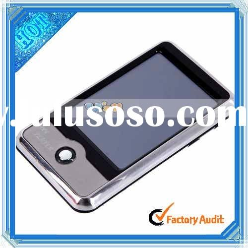"""Silver 4GB 2.8"""" TFT-LCD Touch Screen Driver MP4 Player Download With Camera"""