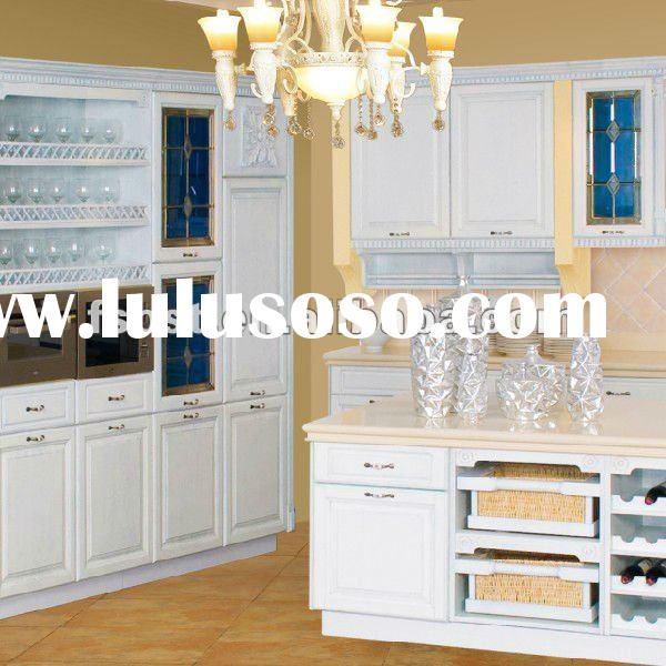 Solid wood kitchen cabinet kitchen design AK26