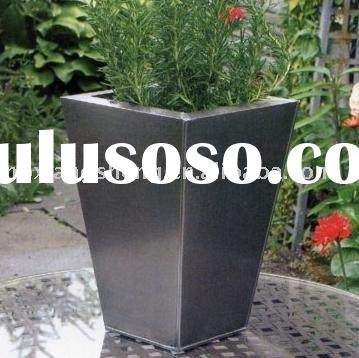 Square Stainless Steel Flower Pot out
