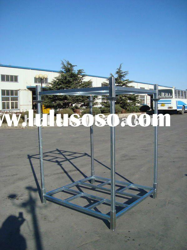 Square tube Stacking Pallet Racks