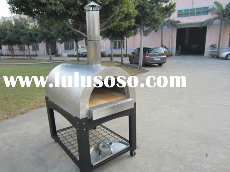 Stainless steel wood fire Pizza Ovens