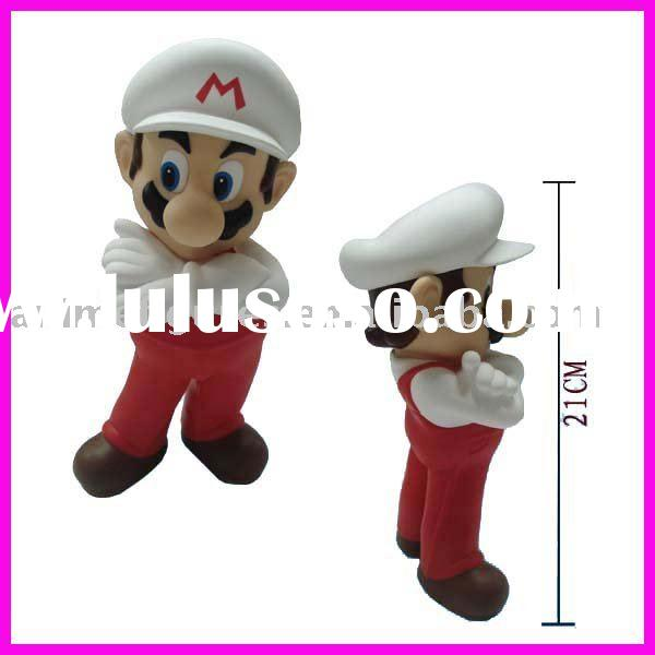 Super Mario anime figures