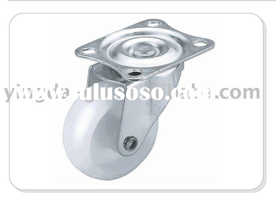 Swivel dust cap single caster wheel/rotation runner