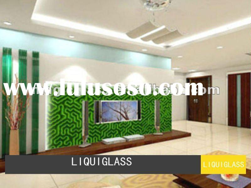 TV Background Decorative Glass/Decorative Glass/3D Glass Panel/Art Glass Panel