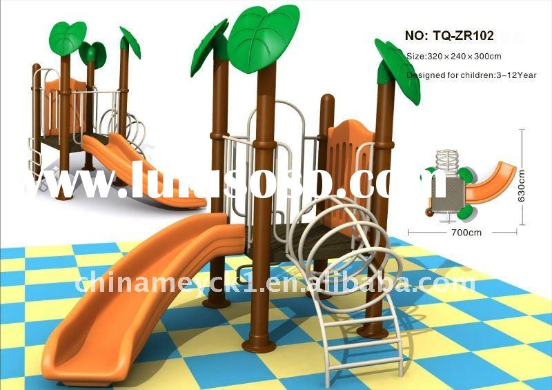 The great nice kid's outdoor playground equipment TQ- ZR102 used outdoor playground equipmen