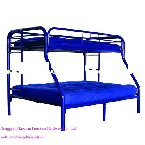 Twin-Over-Full Triple Metal Bunk Bed Frame