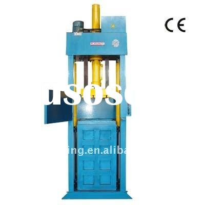 Used Clothes Hydraulic Baler Machine / Compress Baler