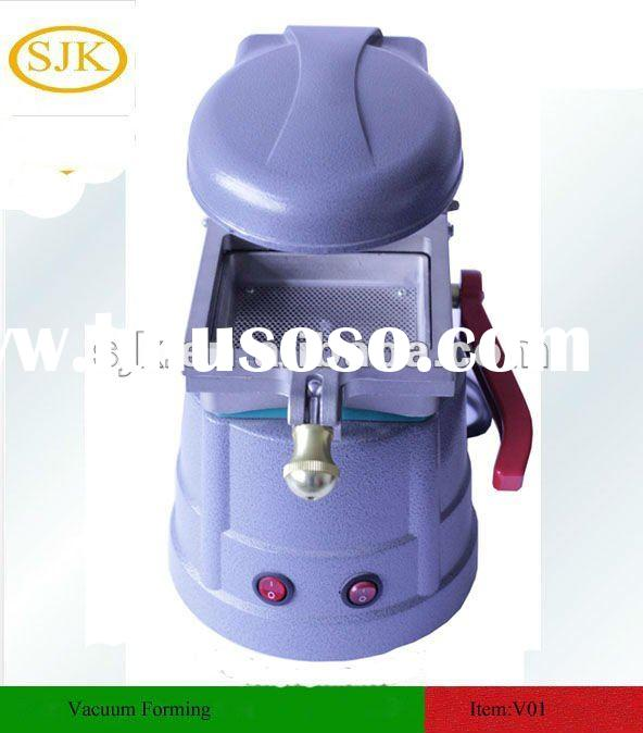Vacuum forming molding machine for dental