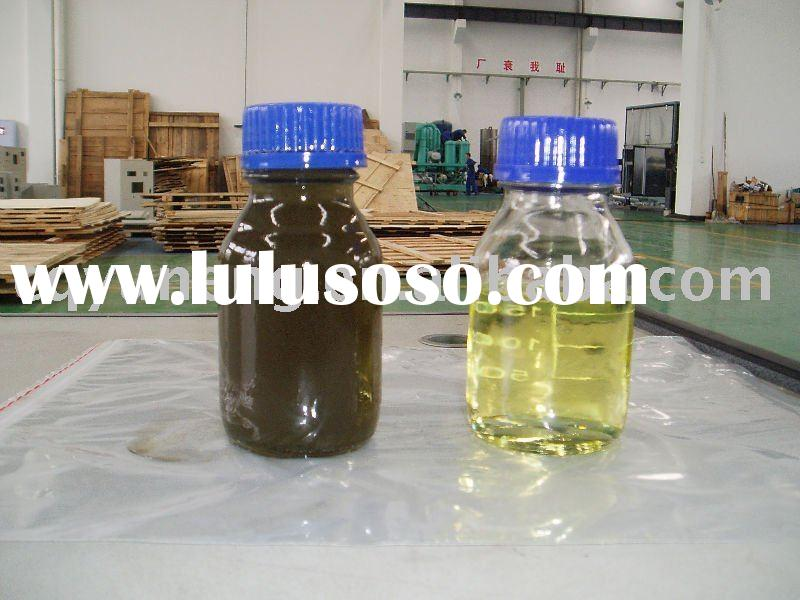 Waste Engine Oil Filtration Oil Recycling Oil Purifier machine